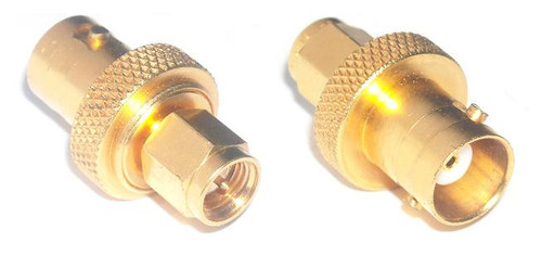 Mil-Spec Grade - BNC-Female to SMA-Male Coaxial Adapter Connector