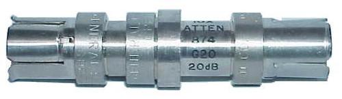 General Radio GR-874-G20 - 20 dB (10X) Fixed Coaxial Attenuator