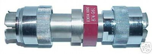 General Radio GR-874-G06L - 6 dB (2X) Fixed Coaxial Attenuator