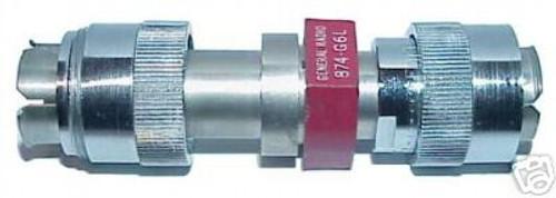 General Radio GR-874-G06L - 6 dB (2X) Fixed Coaxial Attenuator