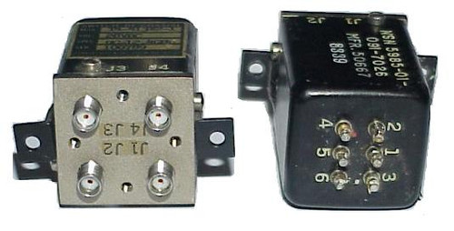 Dynatech DPDT Microwave Coaxial Switch 18GHz