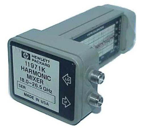 HP 11971K Harmonic Waveguide Mixer for 8569B 18-26.5GHz