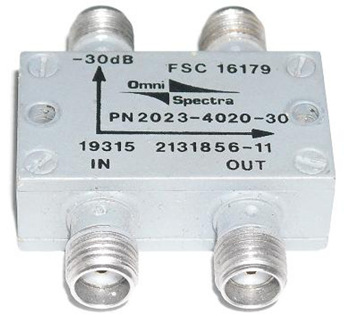 Omni-Spectra 30 dB Quadrature Hybrid Coupler