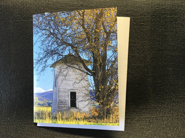 10 The Tower  Blank Note Card