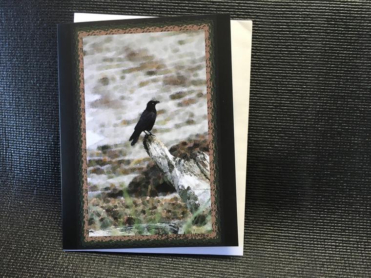 10 Crow Blanket Blank Note Cards