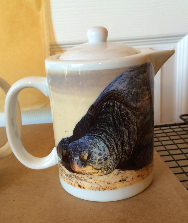 Turtle Teapot - Creamer - Gravy Pitcher