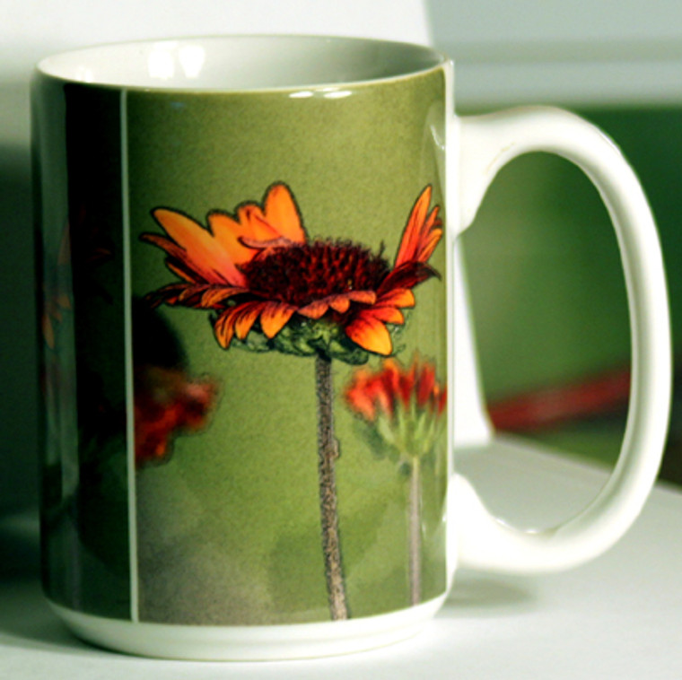 Galardia Large Coffee Mug 15 oz
