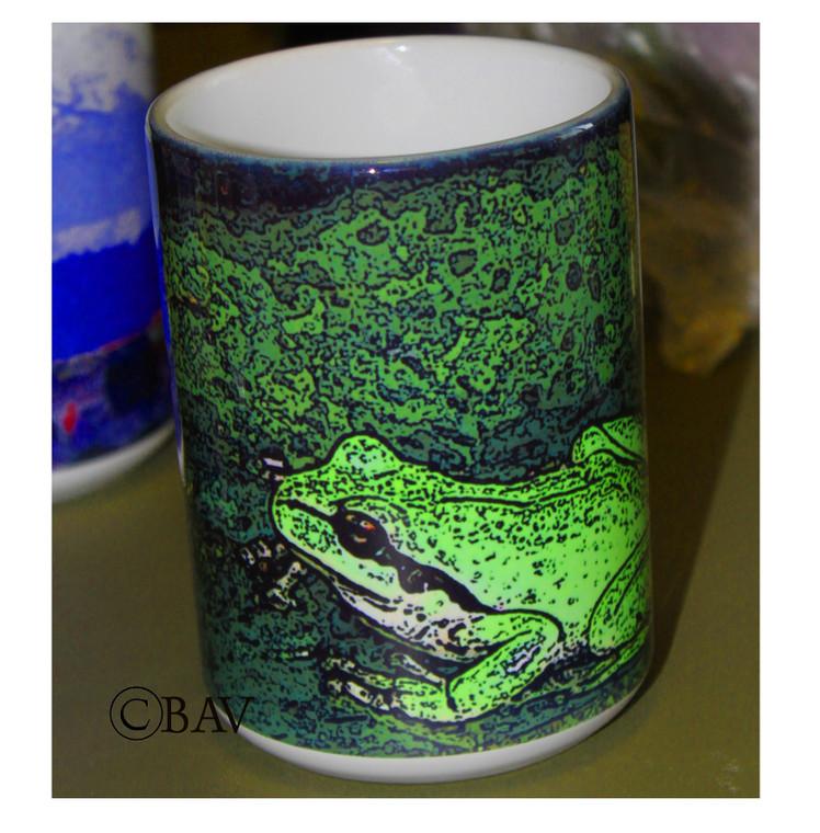 Froggy Large Coffee Mug 15 Oz