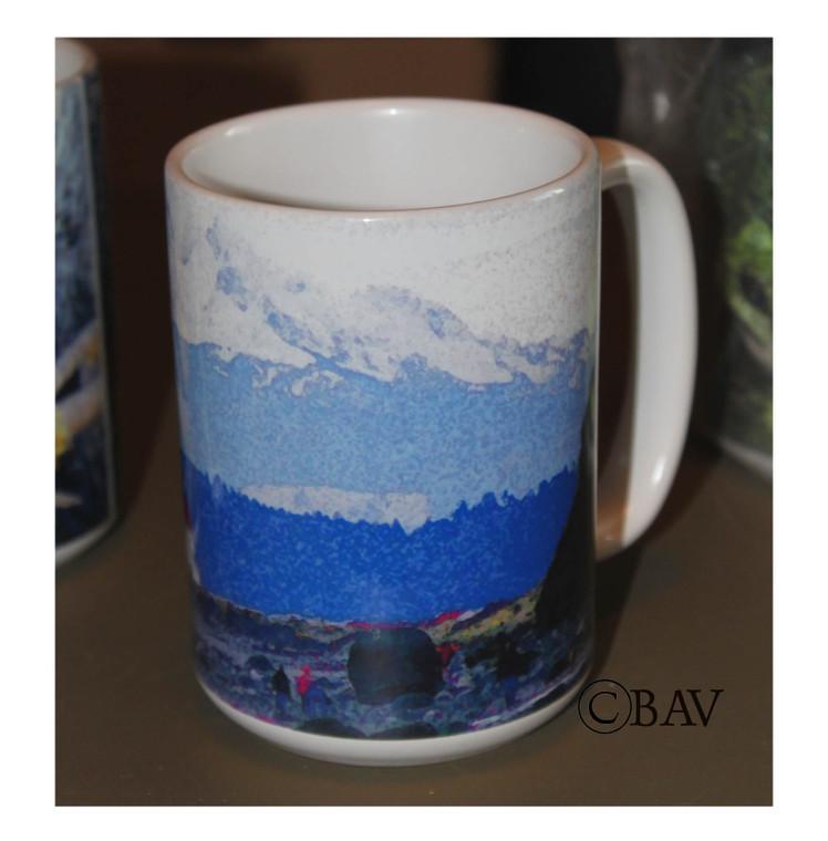 Lighthouse Large Coffee Mug 15 Oz