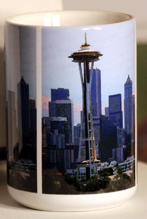Seattle Space Needle Large Coffee Mug 15 Oz