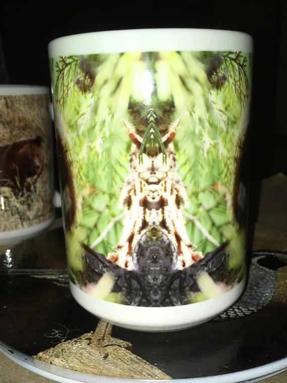 Red Squirrel Large Coffee Mug 15 Oz