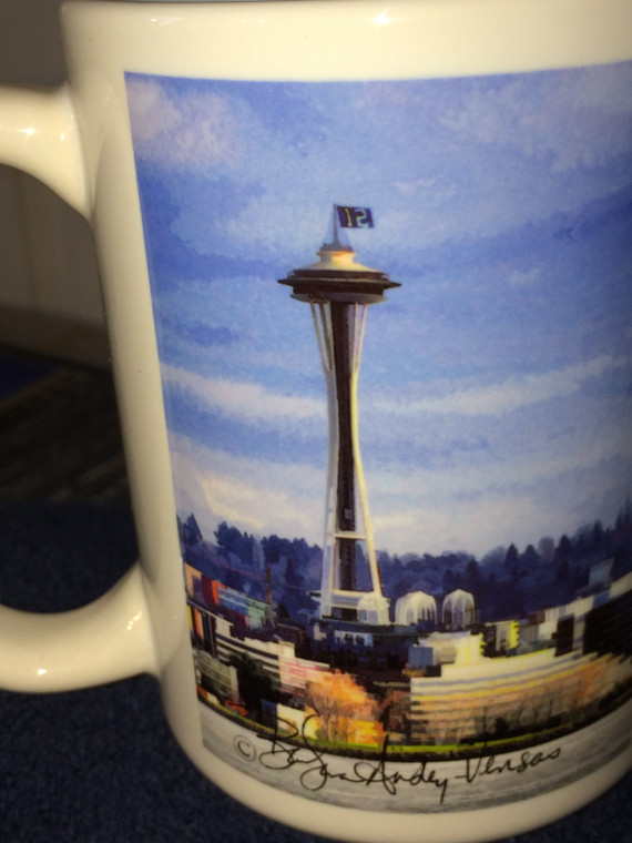 12 Space Needle Large Coffee Mug 15 Oz