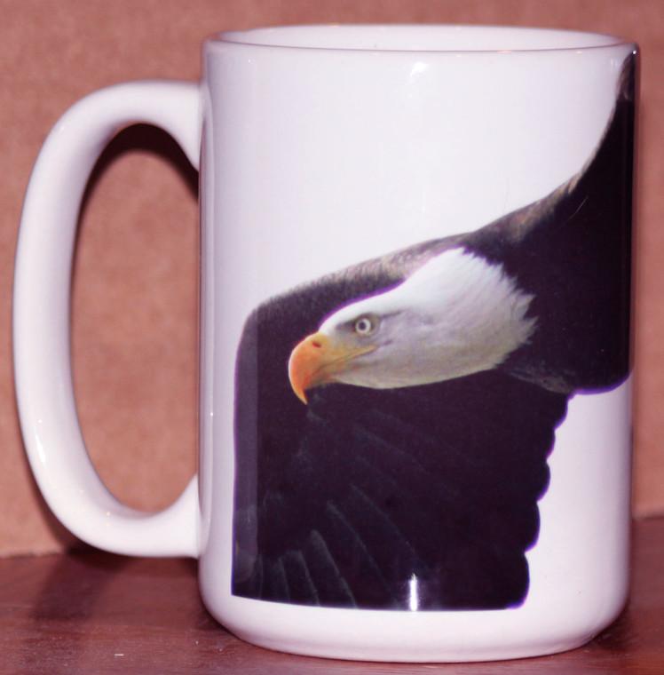 Eagle Flying Mug 15 oz Large Coffee Mug