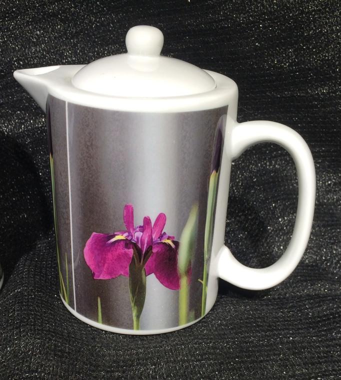 Iris Laevigata: Teapot - Creamer - Gravy Pitcher