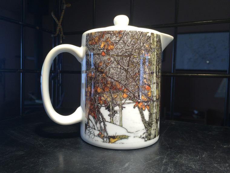 Winter Aspen: Teapot - Creamer - Gravy Pitcher