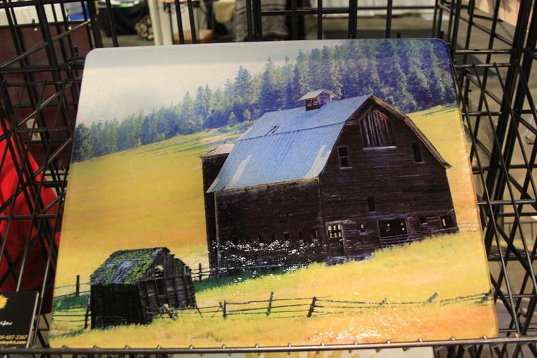 Barn Glass Cutting Board Large 12 in x 15 in