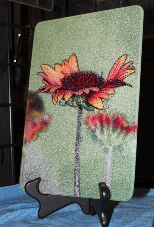 Galardia Glass Cutting Board 7.75in x 10.75in