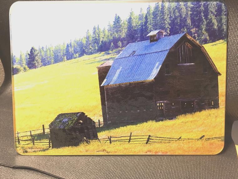 Barn Glass Cutting Board  - 10.75 in x 7.75