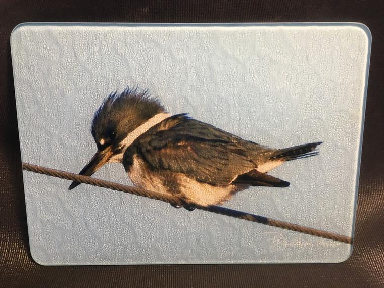 Kingfisher Glass Cutting Board 7.75in  x 10.75in