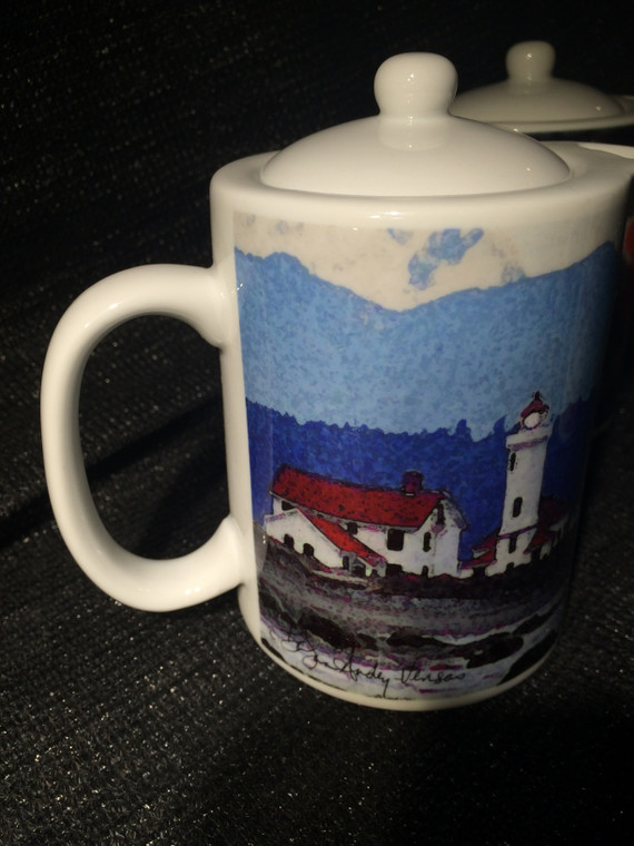 Lighthouse: Teapot - Creamer - Gravy Pitcher