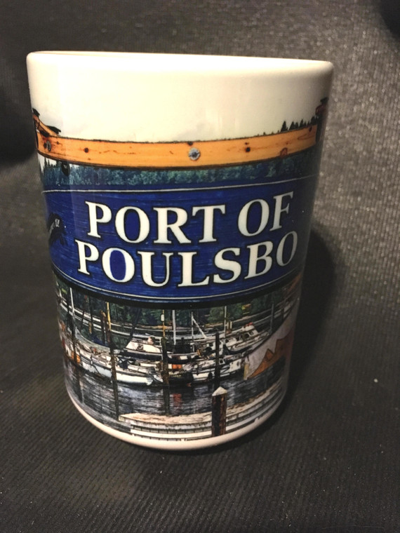 Poulsbo Harbor Large Coffee Mug 15 Oz