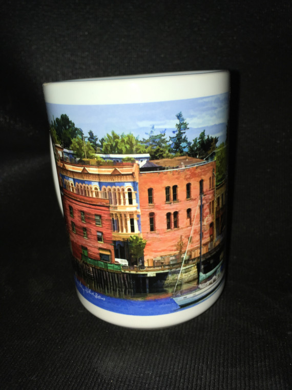 Port Townsend Harbor Large Coffee Mug 15 Oz