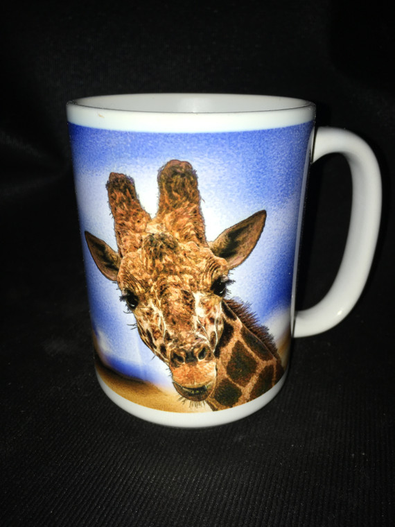 Giraffe Large Coffee Mug 15 Oz