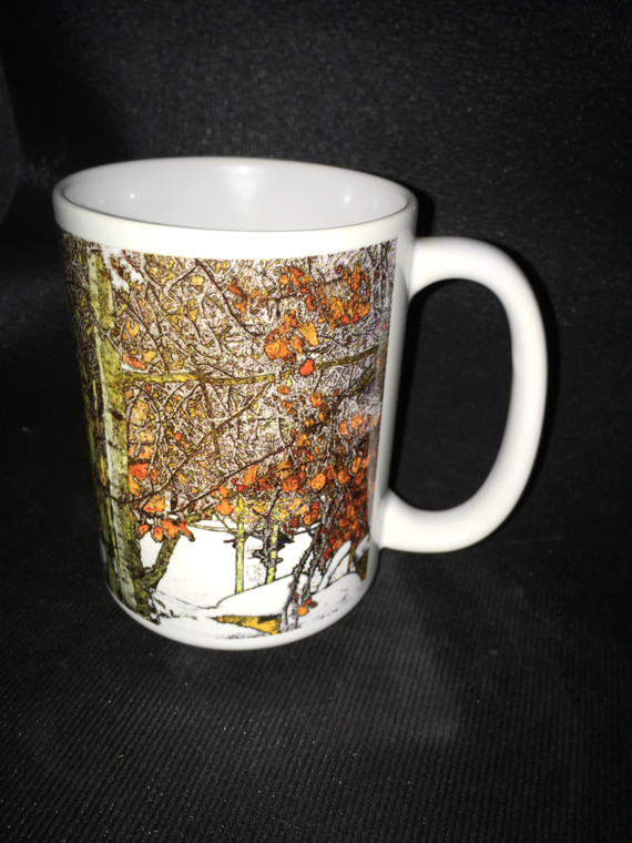 Winter Aspen Large Coffee Mug 15 oz.