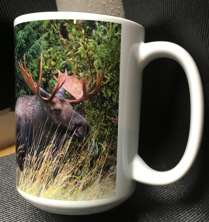 Coffee Mug and Coaster Set - Bull Moose