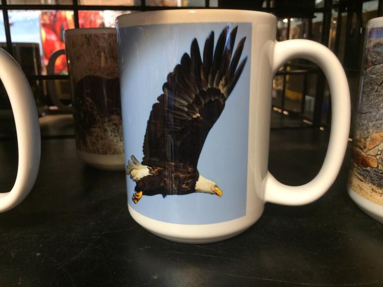 Coffee Mug and Coaster  Set -  Eagle