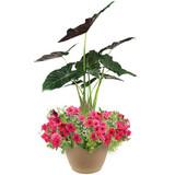 "Mayan Paradise 16"" Planter"