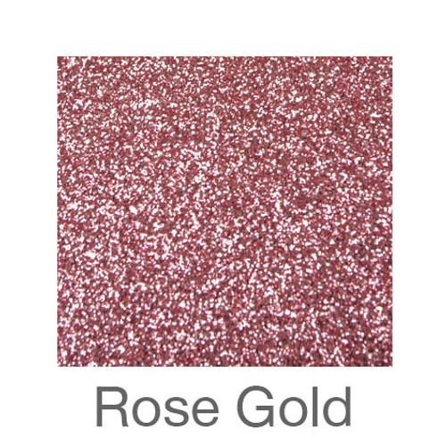 """Glitter -12""""x5ft. Roll-Rose Gold"""
