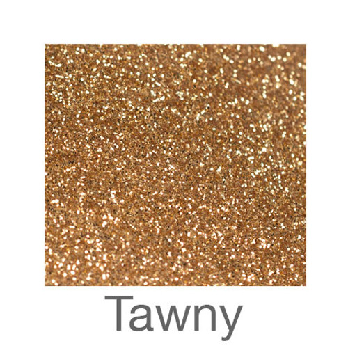 """Glitter -12""""x5ft. Roll-Tawny"""