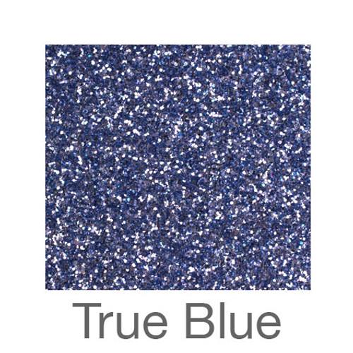 """Glitter -12""""x5ft. Roll-True Blue"""