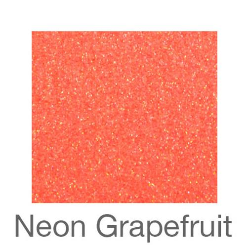 "Glitter *Neon & White*-9""X12""-Neon Grapefruit"