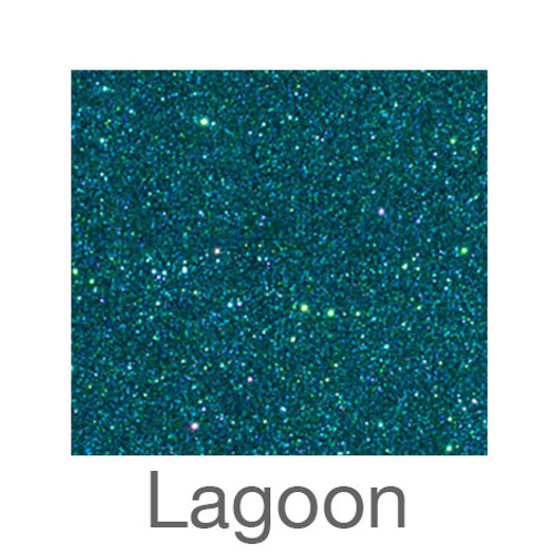 "Glitter-12""x20""- Lagoon"