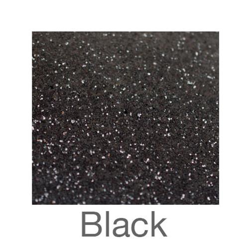 """Glitter-12""""x20""""- Black"""