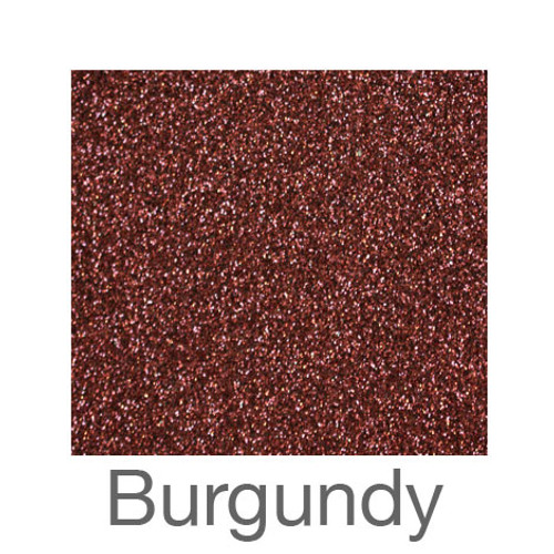 "Glitter-9""x12""- Burgundy"