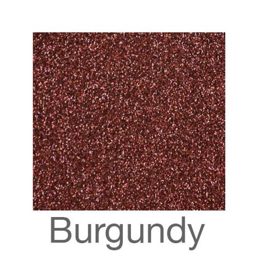 "Glitter-12""x20""- Burgundy"