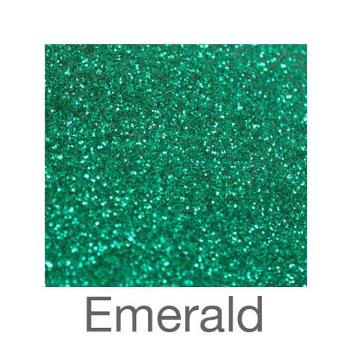 "Glitter-9""x12""- Emerald"