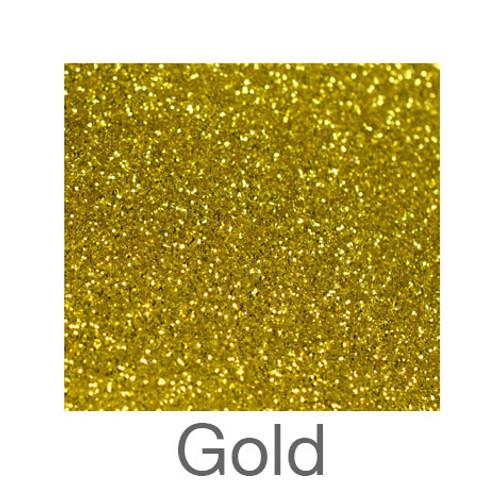 "Glitter-9""x12""- Gold"