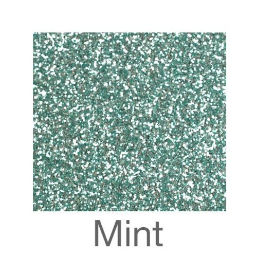 """Glitter-9""""x12""""- Mint"""