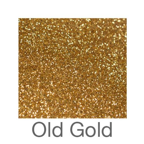 "Glitter-12""x20""- Old Gold"