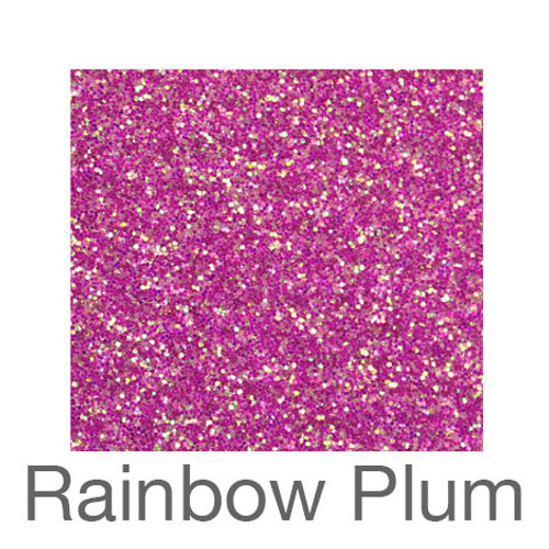 "Glitter-12""x20""- Rainbow Plum"