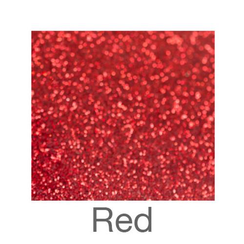 """Glitter-12""""x20""""- Red"""