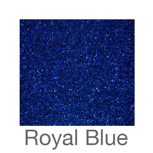 "Glitter-9""x12""- Royal Blue"