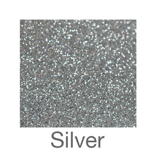 "Glitter-12""x20""- Silver"