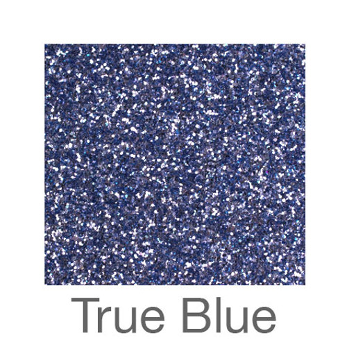 """Glitter-9""""x12""""- True Blue"""