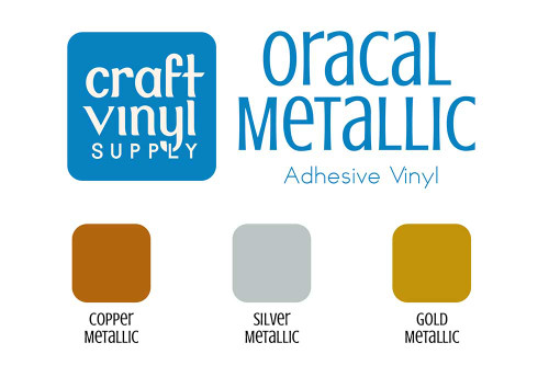 651 Metallic Permanent Vinyl Sheets