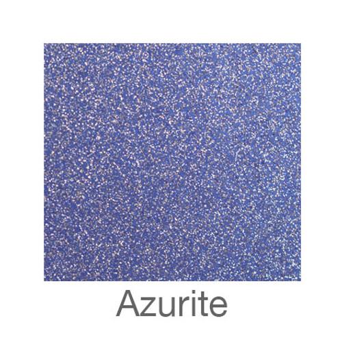 """Glitter Adhesive Vinyl-12""""x12""""-Azurite"""
